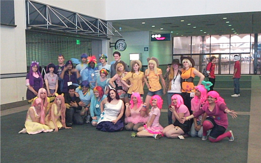MLP FIM Gathering at AX 2011 by zepeda26