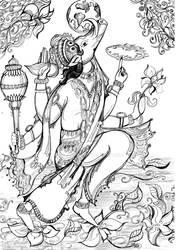 Lord Varaha by JuliaShug