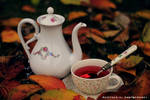 Tea in the autumn melancholy