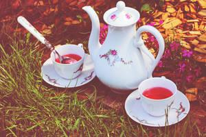 Harmony Tea time by LucreciaMortishia
