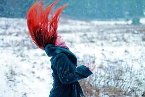 Wind in my hair by LucreciaMortishia
