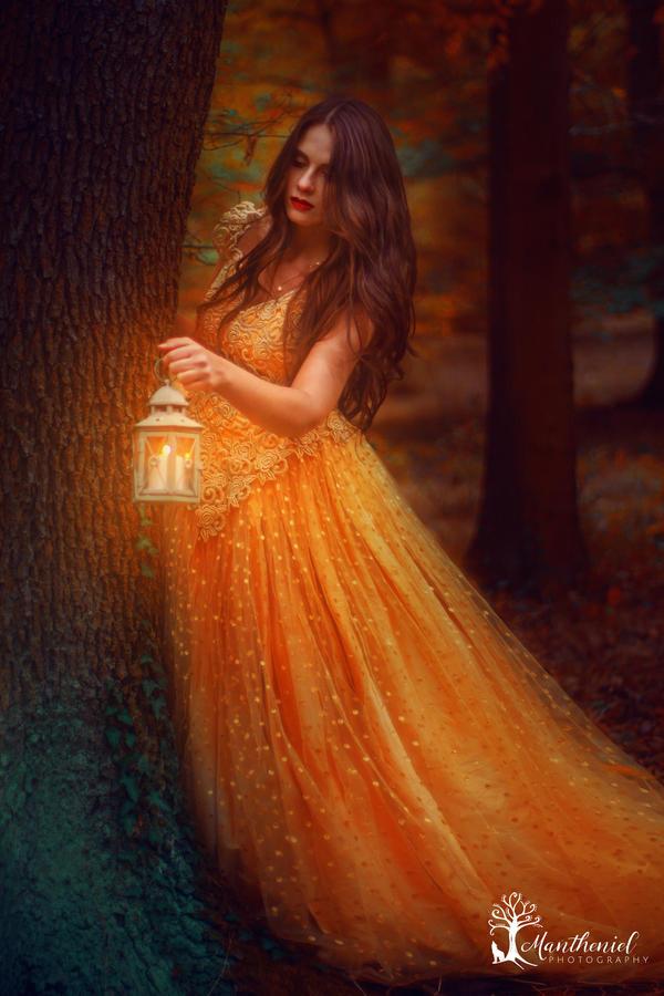 Autumn Fairyland by LucreciaMortishia