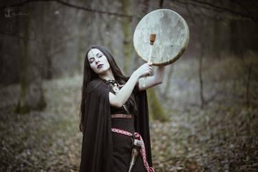 Calling Ancestors by LucreciaMortishia