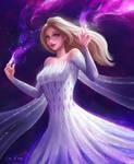 Elsa New Dress!