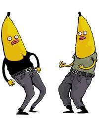 bananas by dagove