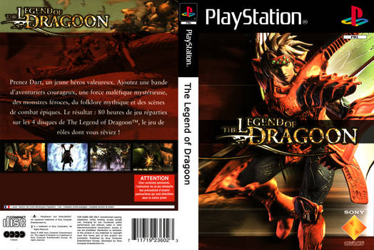 Cover : The Legend of Dragoon