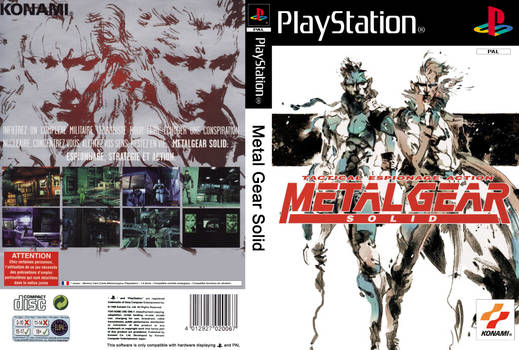 Cover : Metal Gear Solid