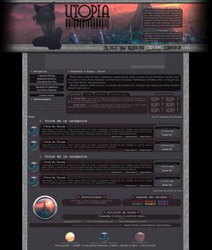 Forumdesign - RPG forum Utopia