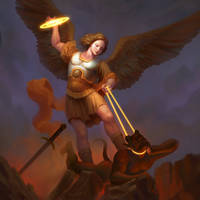 Archangel Michael by YueQing