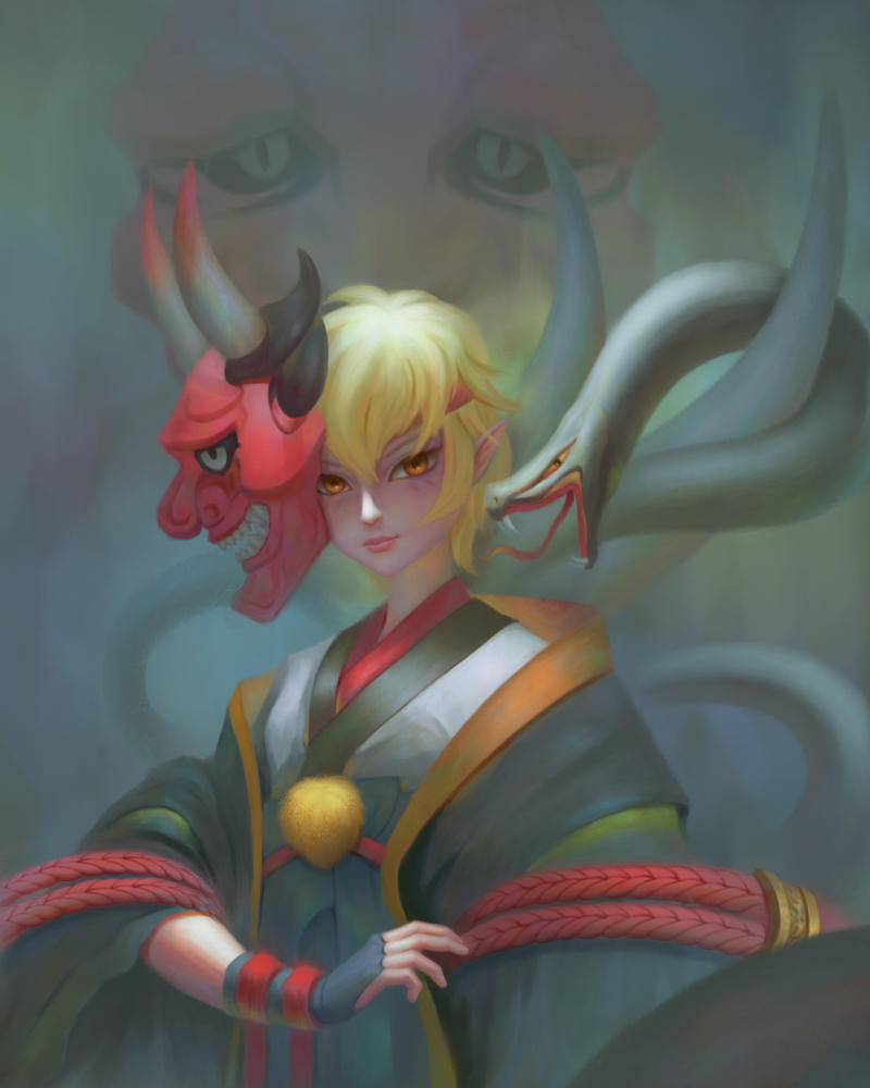 Hannya by YueQing