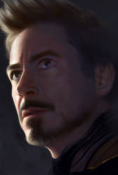 Tony-Stark by YueQing