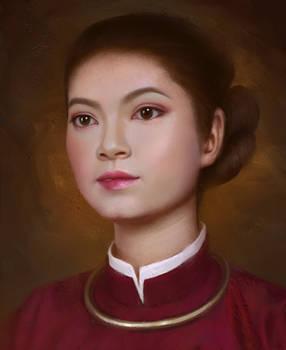Vietnamese Ancient Girl