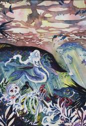 Seurustelua aaltojen alla by Agina