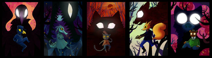 Night in the Woods by Agina