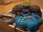 Nintendo 64 Cake by chimera-99