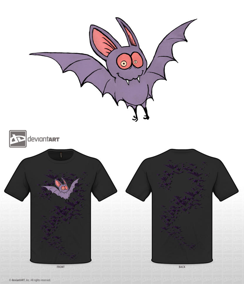 Nightcrawler Vampire Bat Red eyes by Chromone