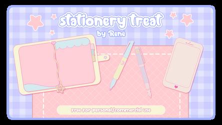 Stationery Treat by Rene