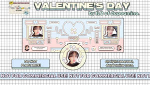 Valentine's Day Layout-template by ilo