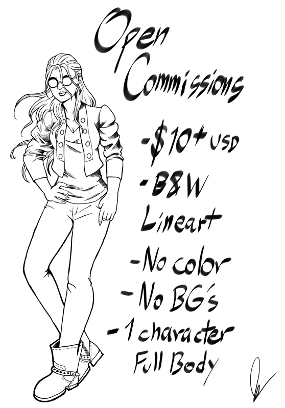 Open Commissions! by Lord-Leafar