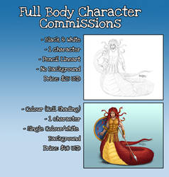 Full Body Commissions