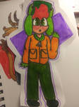 bby Kyle made with cheap markers XD