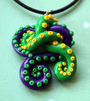 Day of the Tentacle Necklace by Sakiyo-chan