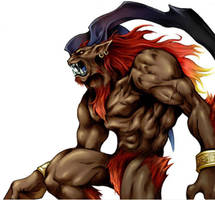 Ifrit ffvii -squaresoft- by Dunfee