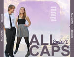 ALL CAPS back of CD by Jess-Kar
