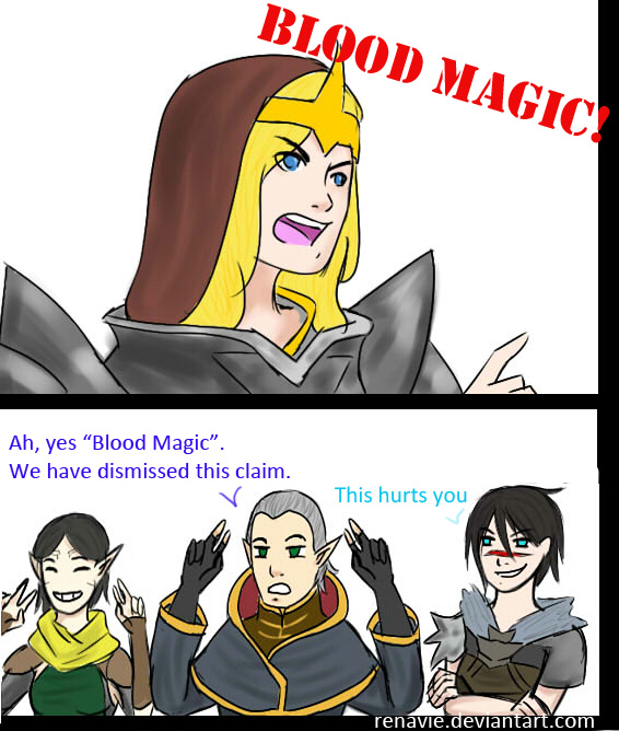 how to get started blood magic