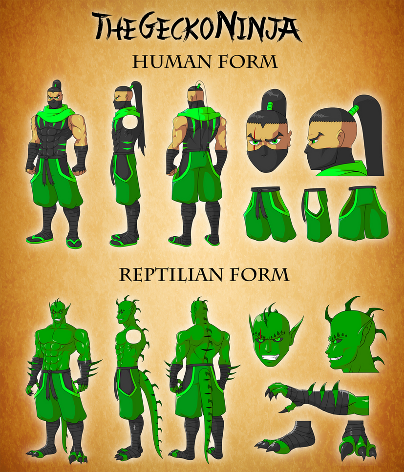 New Gecko Reference Sheet