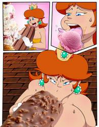 Daisy Slut Comic: Pg11 Color CENSORED by TheGeckoNinja