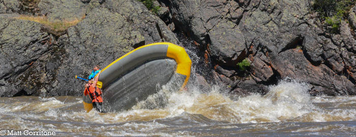Clarkfork River Whitewater CARGNAGE!