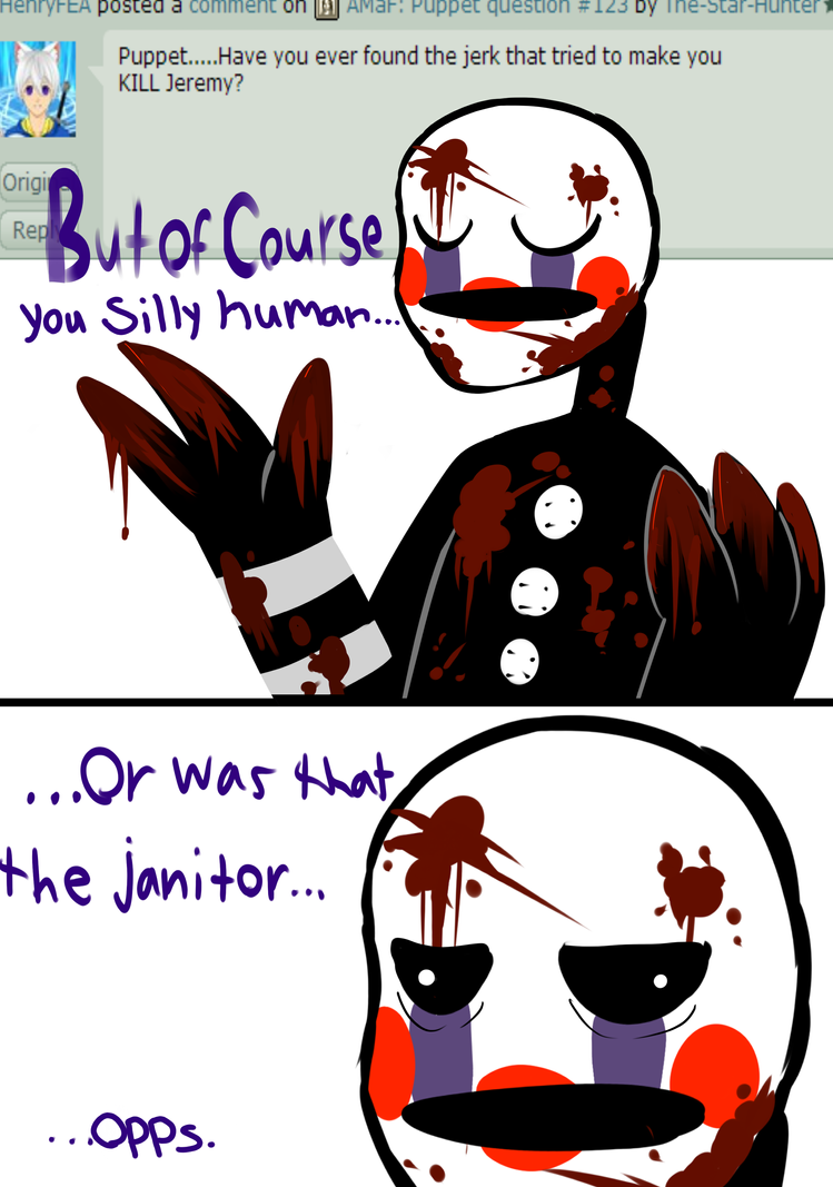 Amaf puppet question 124 by the star hunter on deviantart