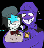 ~Ster HuntDerp X Purple Asshat~ by The-Star-Hunter