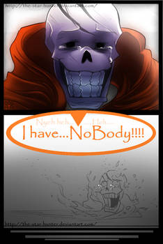 Undertale Comic: ''Nobody and No body.''