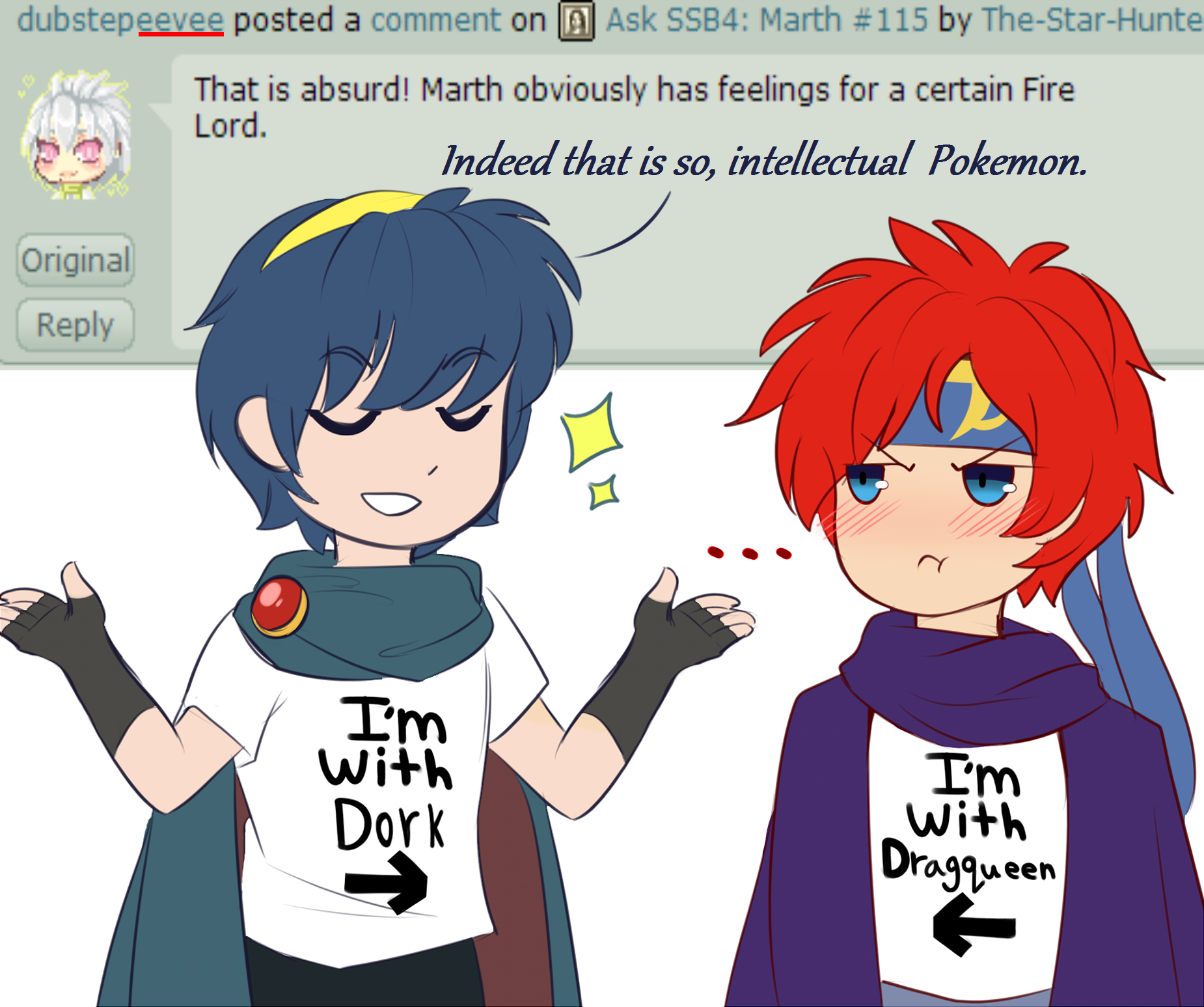 Gods, Male Avatar and Lucina Spoilers* - Fire Emblem