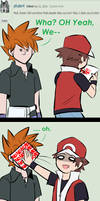 Ask SSB4: PKMN Trainer Red and Green Question #137 by The-Star-Hunter
