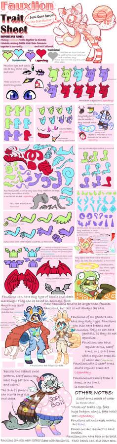 Fauxiions: Semi-Open Species [Trait Sheet]