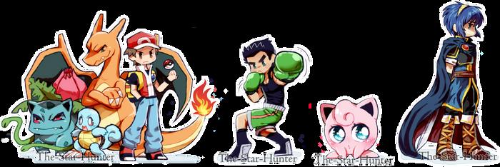 My Super Smash Bros. Mains