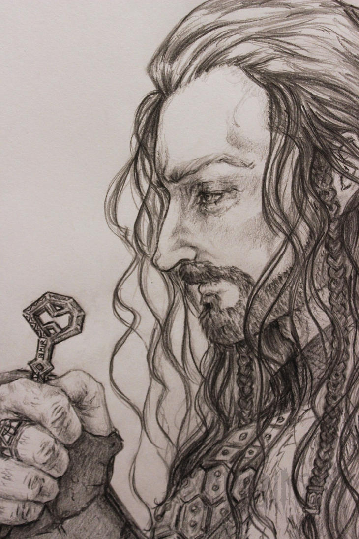 Thorin Oakenshield: King without a Crown closeup by okanmuri