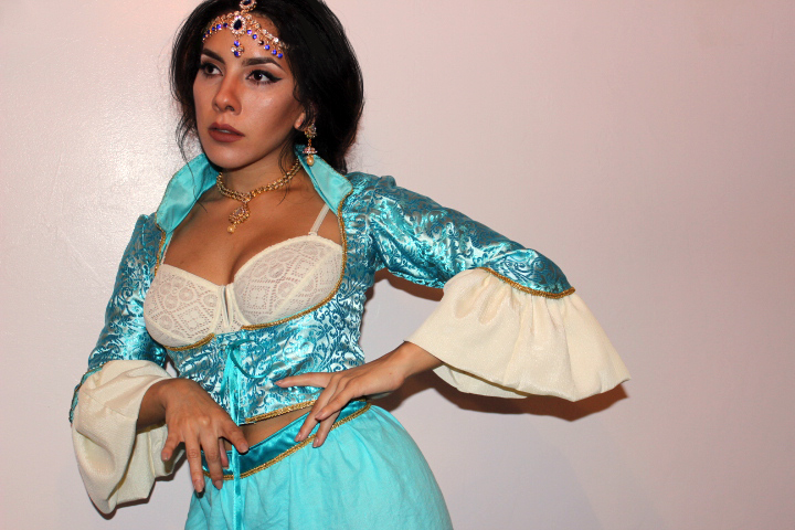 Shoomlah's Princess Jasmine WIP by okanmuri