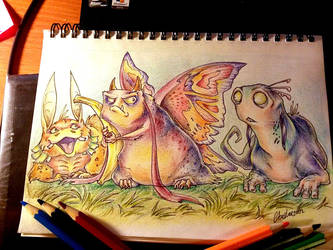 The time for colored pencils :D