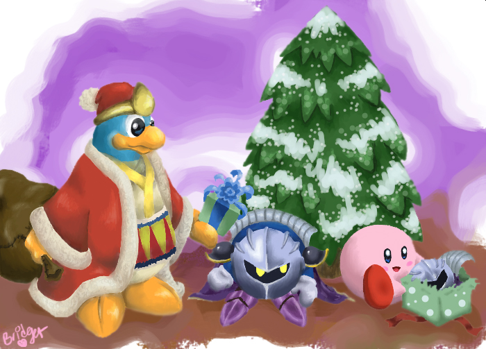 Very Kirby Christmas to You by MagicalGirlYossy on DeviantArt