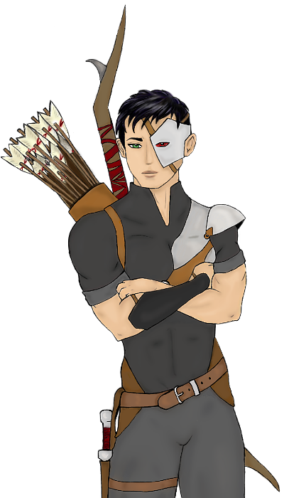 Damen Sprite (complete) by BeautyThorned