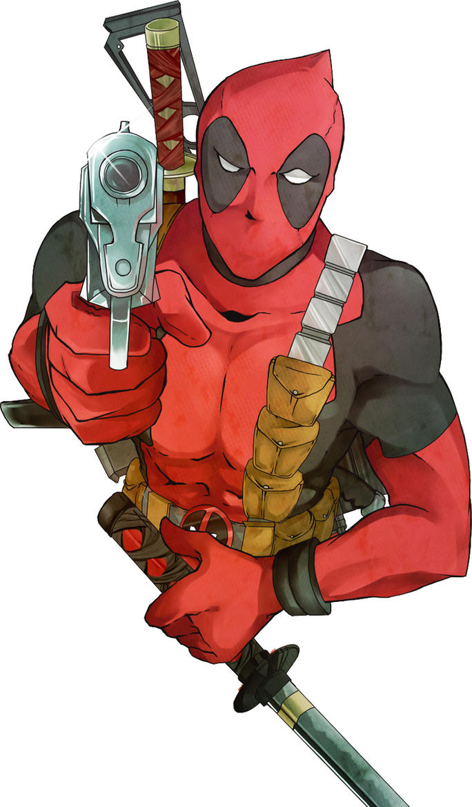 Deadpool by erodayu