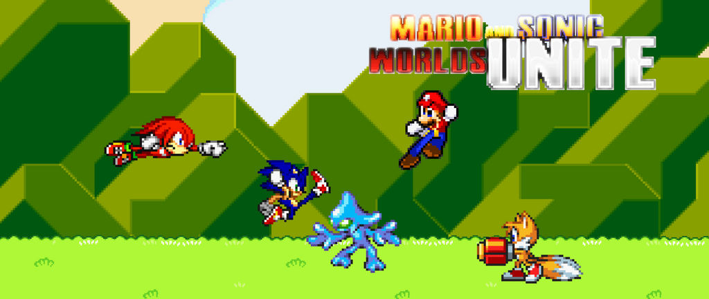 Mario Sonic Tails And Knuckles Vs Chaos By Mattplaysvg On Deviantart