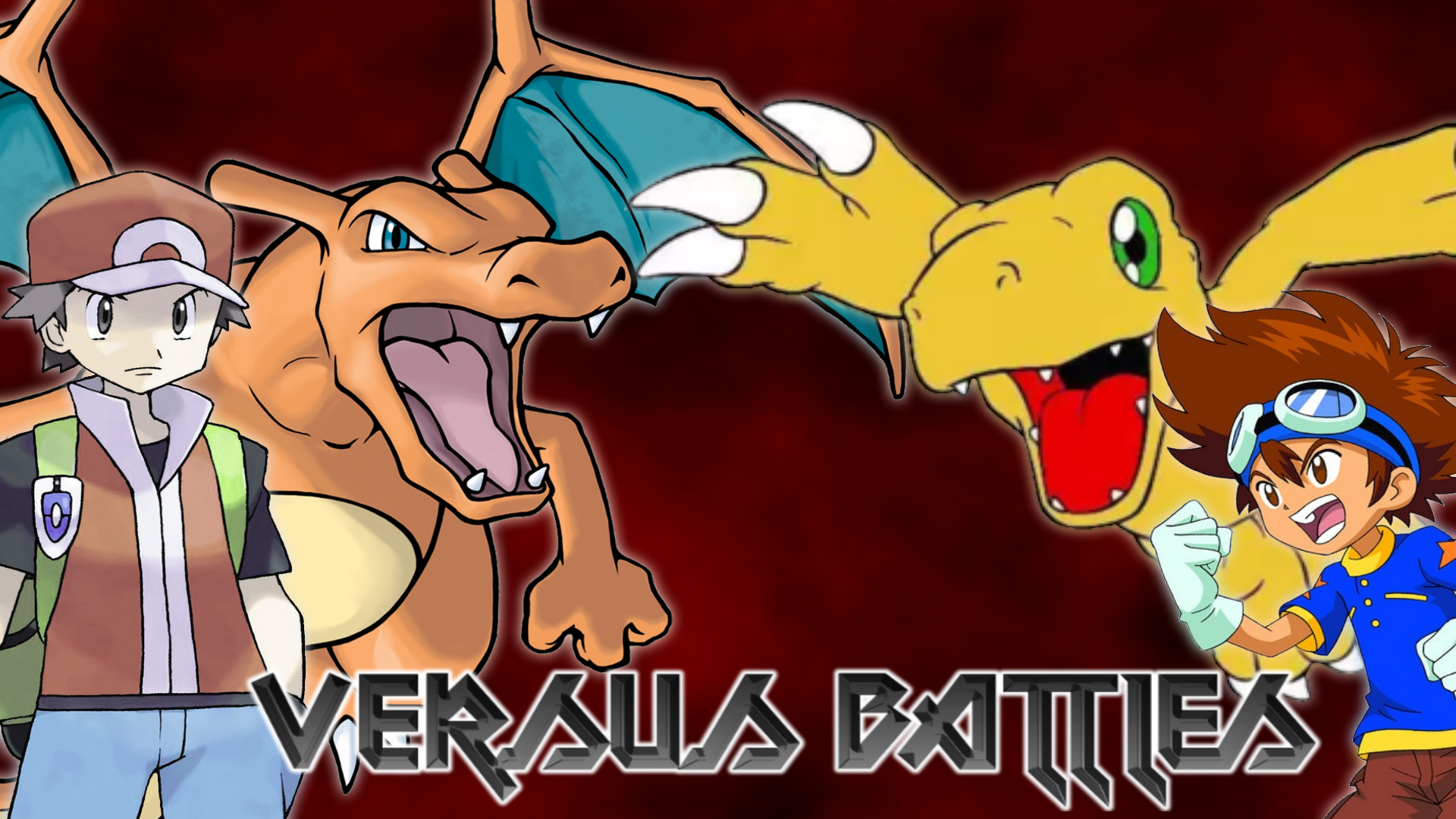 Pokemon Vs Digimon Wallpaper by MattPlaysVG on DeviantArt