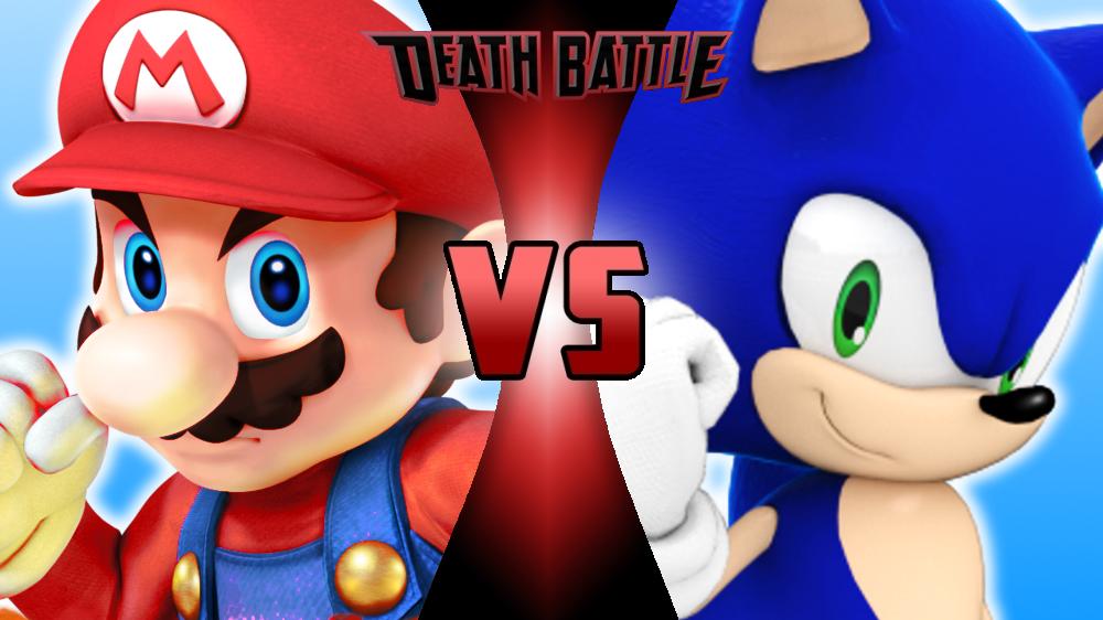 Death Battle Mario Vs Sonic By Mattplaysvg On Deviantart