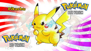 Pokemon Red and Blue- Pikachu Wallpaper