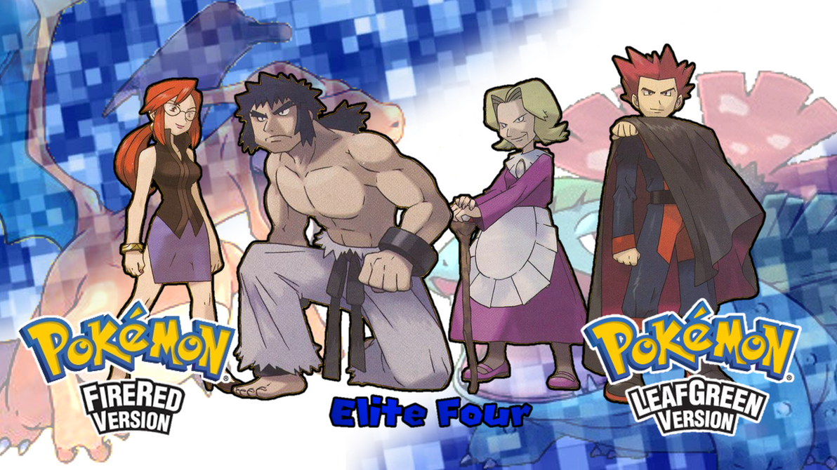 Pokemon FRLG- Elite Four Wallpaper By MattPlaysVG On